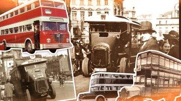 Piętrowe autobusy w Warszawie