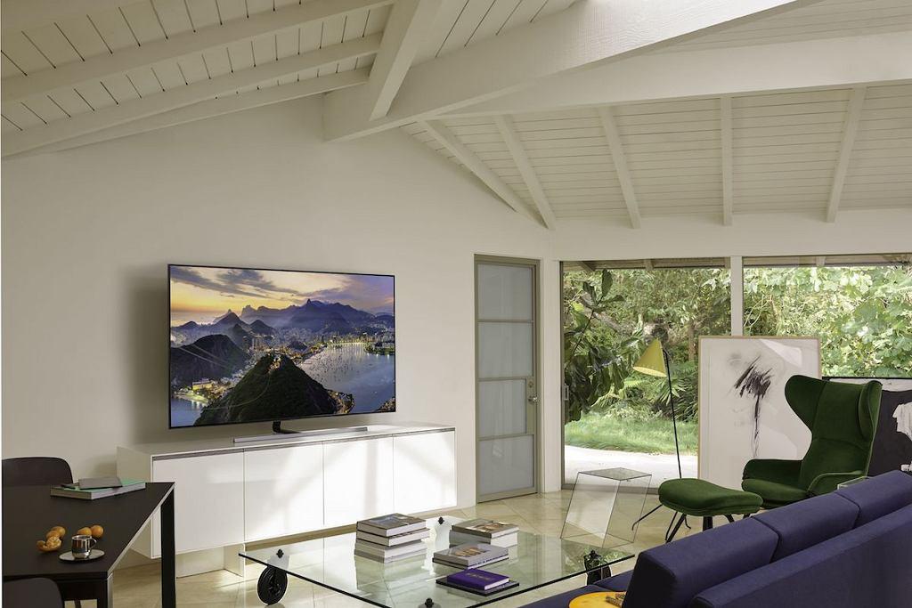 Telewizor Qled Q80R to piękny i minimalistyczny design.