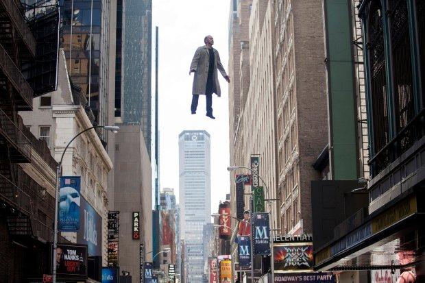 Michael Keaton jako Riggan w filmie 'Birdman'