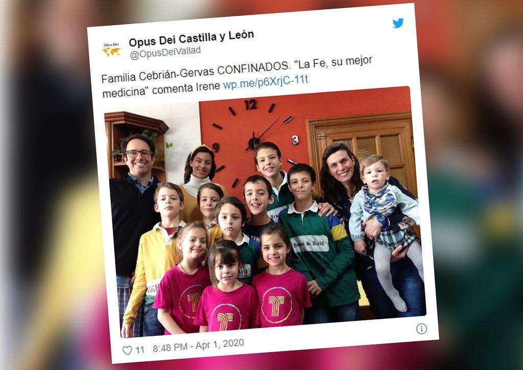 Hiszpania. 13-osobowa rodzina pielęgniarki zakaziła się koronawirusem. Pomogła babcia i wiara
