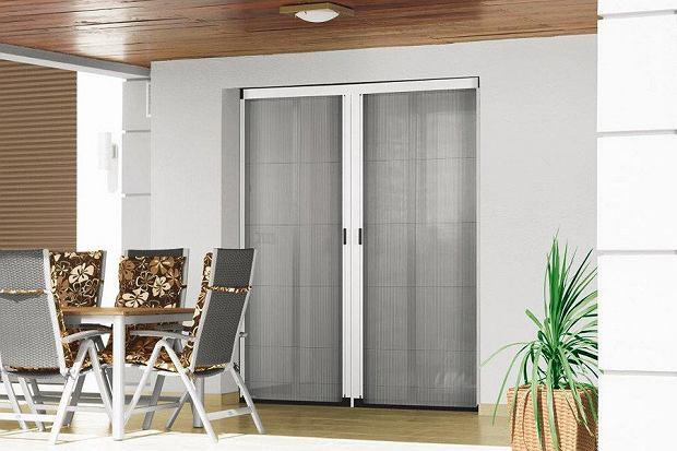 Moskitiera plisowana drzwiowa