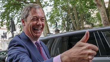Lider Brexit Party Nigel Farage
