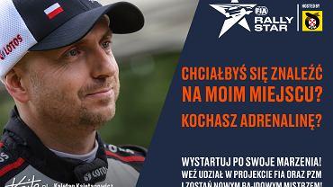 Jednym z ambasadorów FIA Rally Star jest Kajetan Kajetanowicz