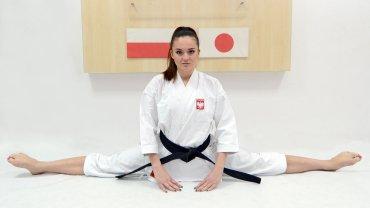 Jedna z najbardziej utytułowanych karateczek świata - Justyna Marciniak z LKKT
