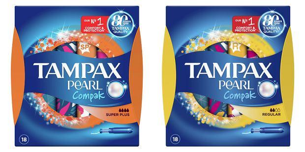 Dyskretna ochrona z Tampax Compak Pearl