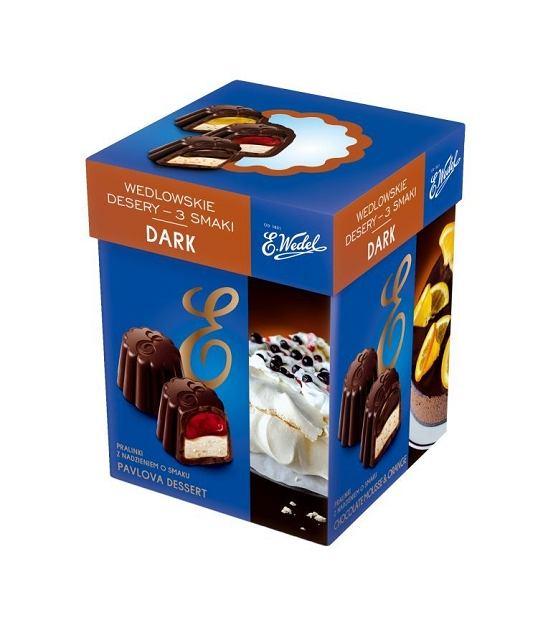 Wedlowskie desery - 3 smaki Dark