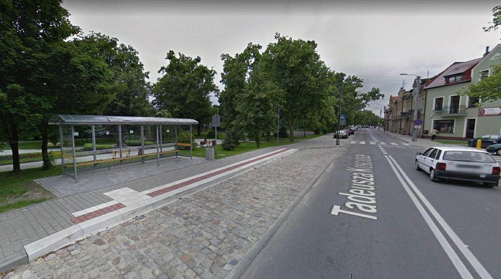 Przystanek autobusowy w Środzie Wielkopolskiej