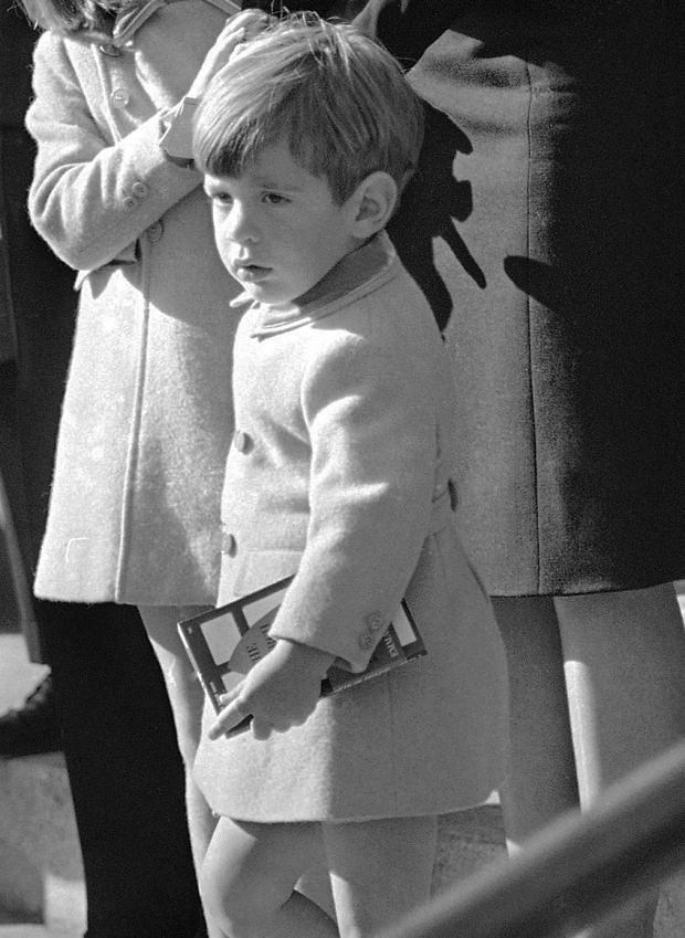 John Fitzgerald Kennedy Junior, 1963