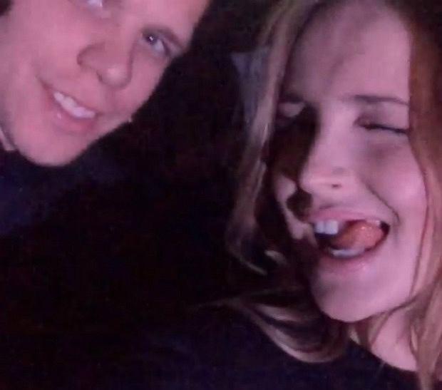 Wojciech Szczęsny i Marina Łuczenko na koncercie Beyonce