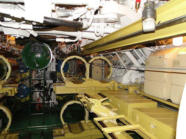 Fragment przedziału torpedowego ORP Orzeł