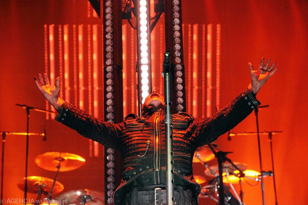 Koncert grupy Rammstein na stadionie we Wrocławiu w 2016 r.