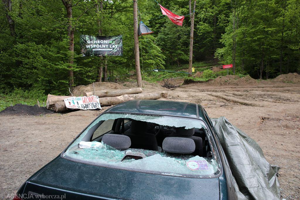 Atak na obóz aktywistów w planowanym Turnickim Parku Narodowym