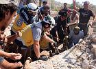 Spada bomba, ludzie uciekają, my biegniemy w przeciwnym kierunku. Wstrząsająca opowieść syryjskiego ratownika z Białych Hełmów