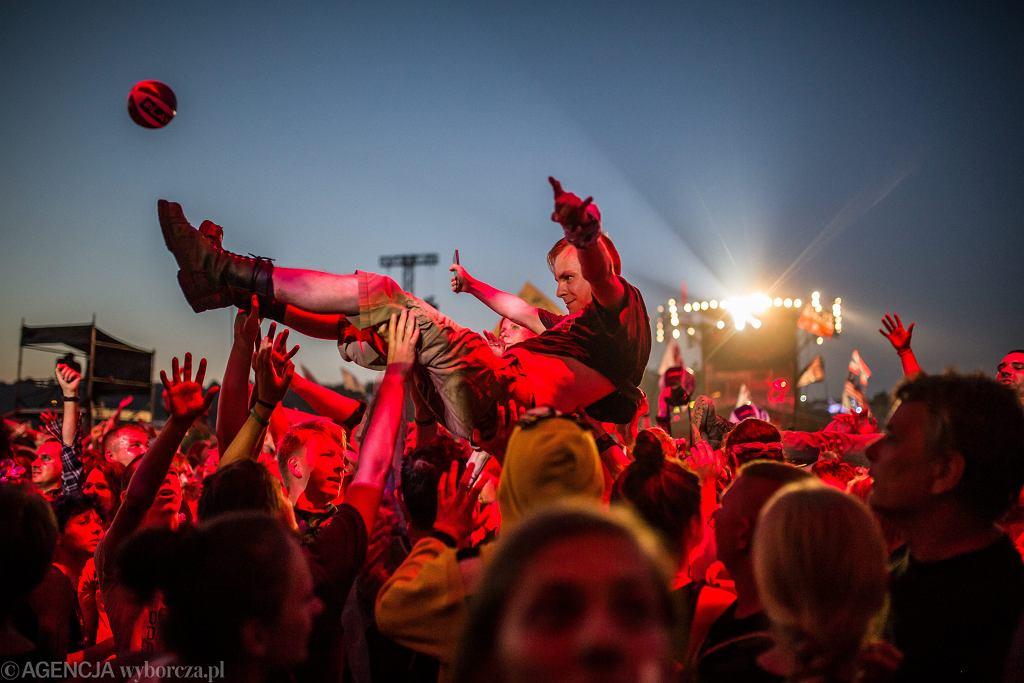 Pol'and'rock Festival, dawny Przystanek Woodstock. Kostrzyn nad Odrą, 4 sierpnia 2018
