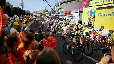 Tour de Pologne 2019. Drugi etap: Tarnowskie Góry - Katowice (153 km)
