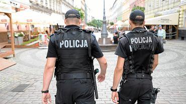 Patrol policji. Zdjęcie ilustracyjne