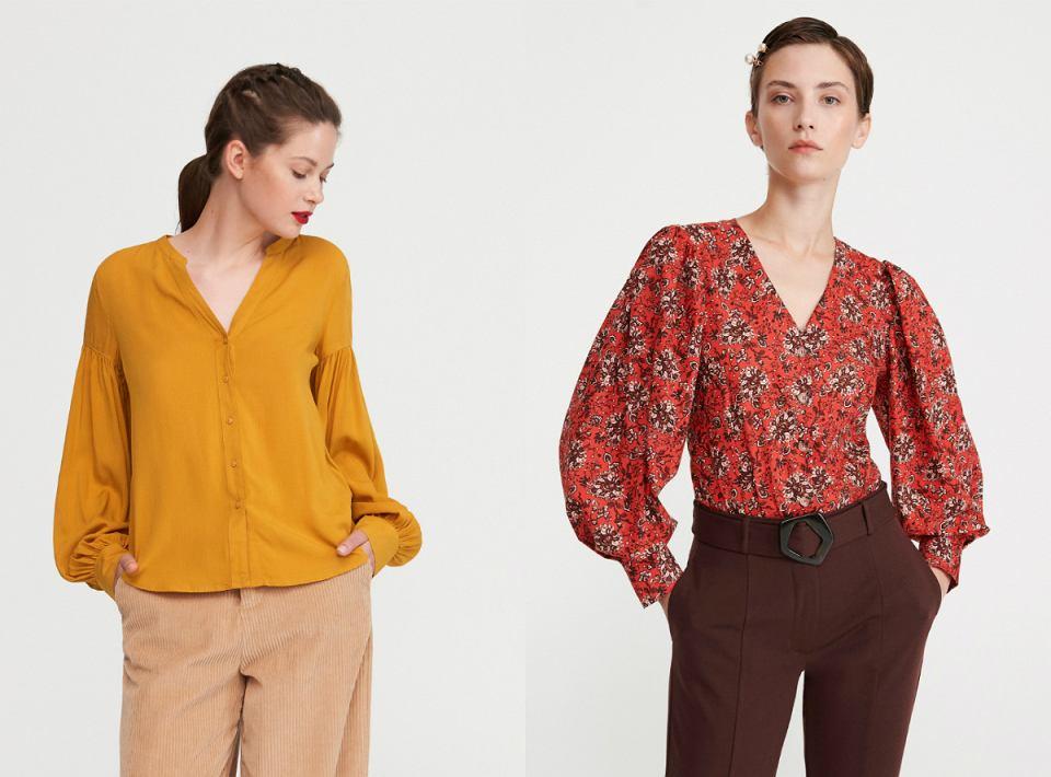 Bluzki w stylu retro - bufki