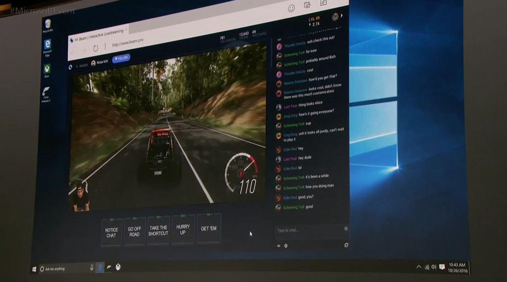 Łatwe streamowanie z Windows 10 Creators Update