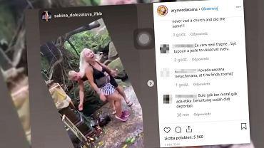 Na parę Instagramerów spadła ogromna fala krytyki. 'Deportować ich'