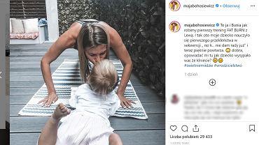 Maja Bohasiewicz zapytała obserwatorki, czy przeklinają, i czy ich dzieci to powtarzają