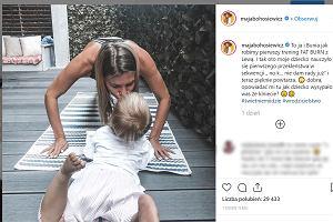 """Maja Bohosiewicz przyznała, że przeklina przy córce. """"Nauczyła się i teraz powtarza"""""""