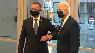 Andrzej Duda, Joe Biden