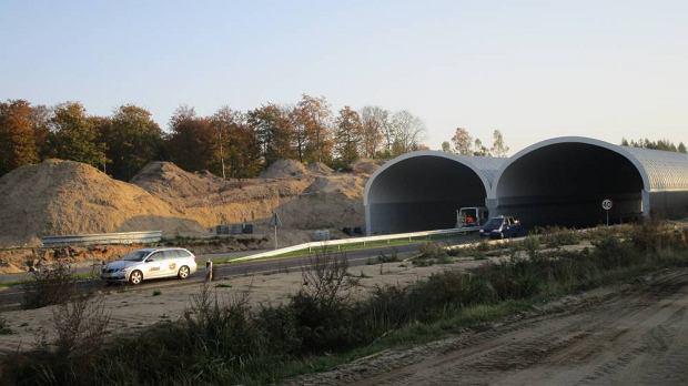 Prace na budowie S6 - Goleniów-Kiełpino