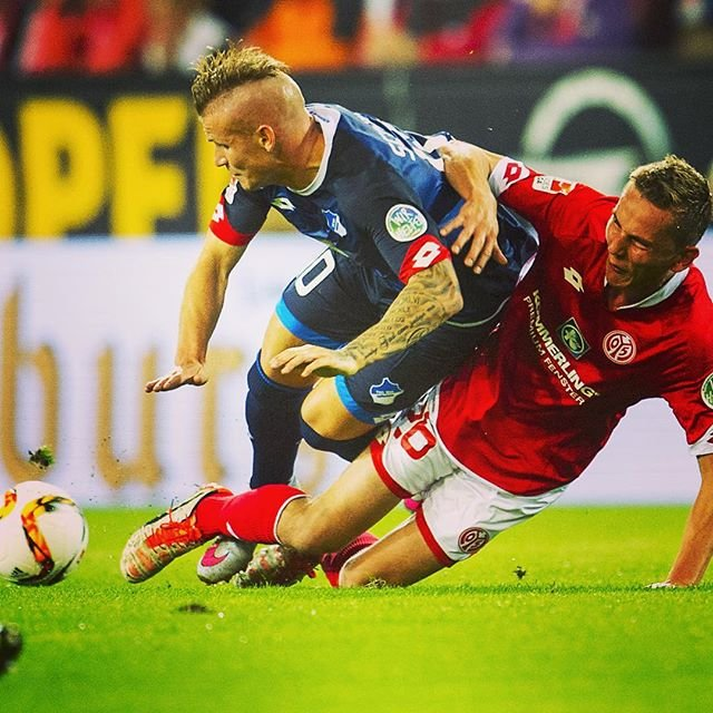 W meczu Mainz z Hoffenheim piłkarze wzięli udział w akcji
