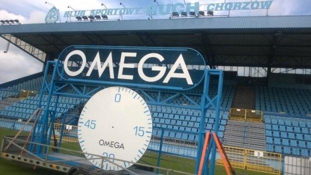 Omega znowu na stadionie Ruchu Chorzów