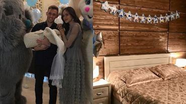 Tak Maciej Rybus powitał w domu żonę i syna
