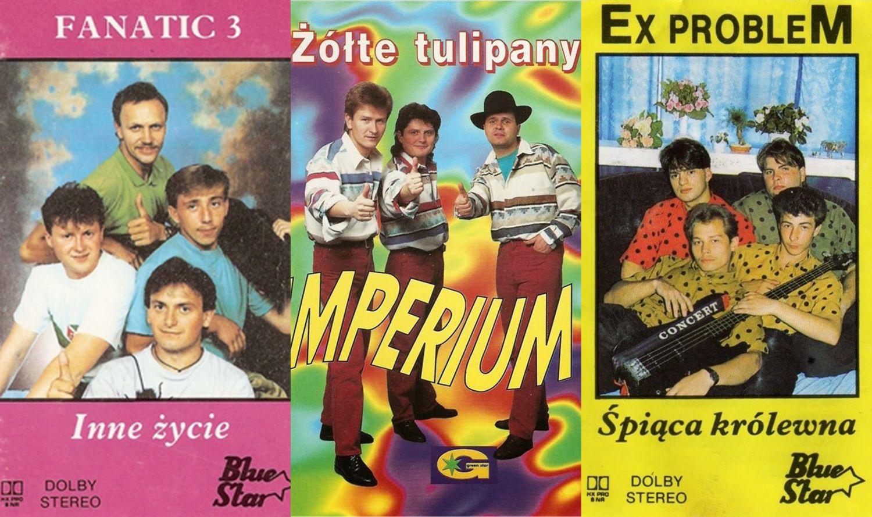 Okładki kaset disco polo