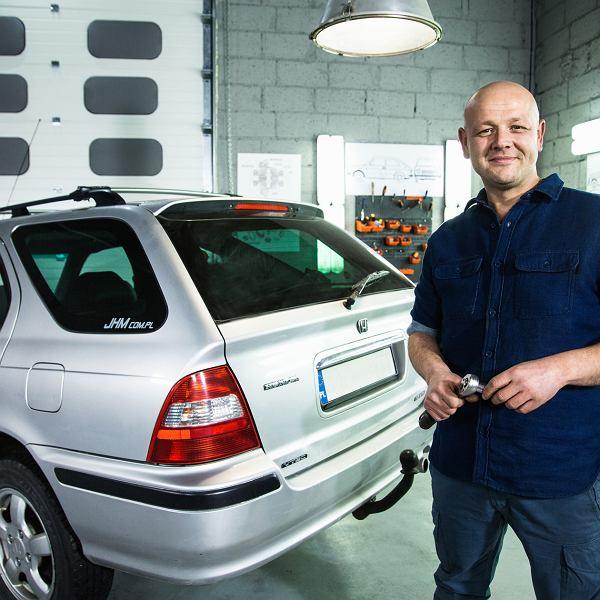 Grzegorz Duda na planie programu '101 napraw'