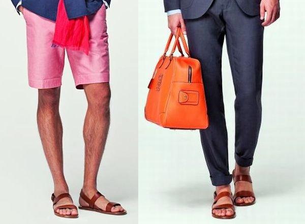 Sandały: idealne na upały, buty, moda męska