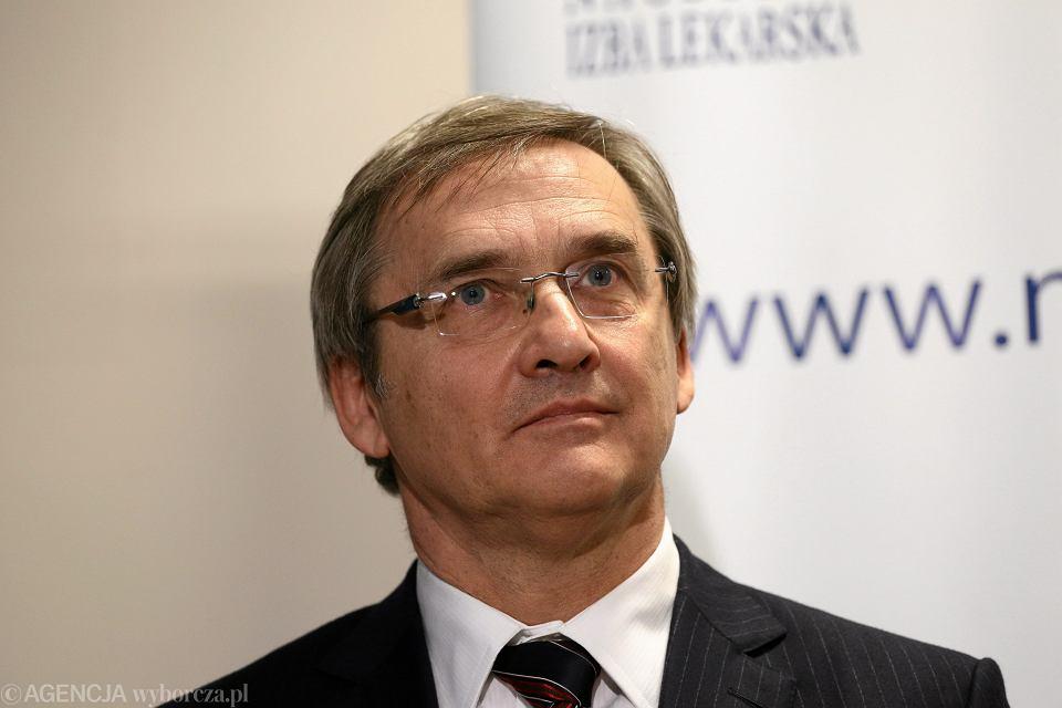 Maciej Hamankiewicz, Prezes Naczelnej Izby Lekarskiej