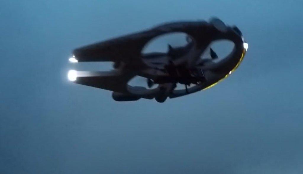 Dron inspirowany Gwiezdnymi Wojnami