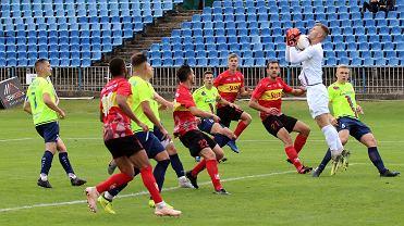 Sobota, 5 września 2020 r. Piłkarska trzecia liga: Warta Gorzów - Ślęza Wrocław  0:3 (0:1)