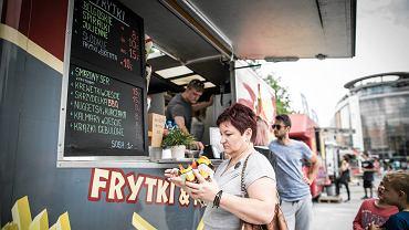 Lublin . Zlot Food Truckow w lipcu 2017