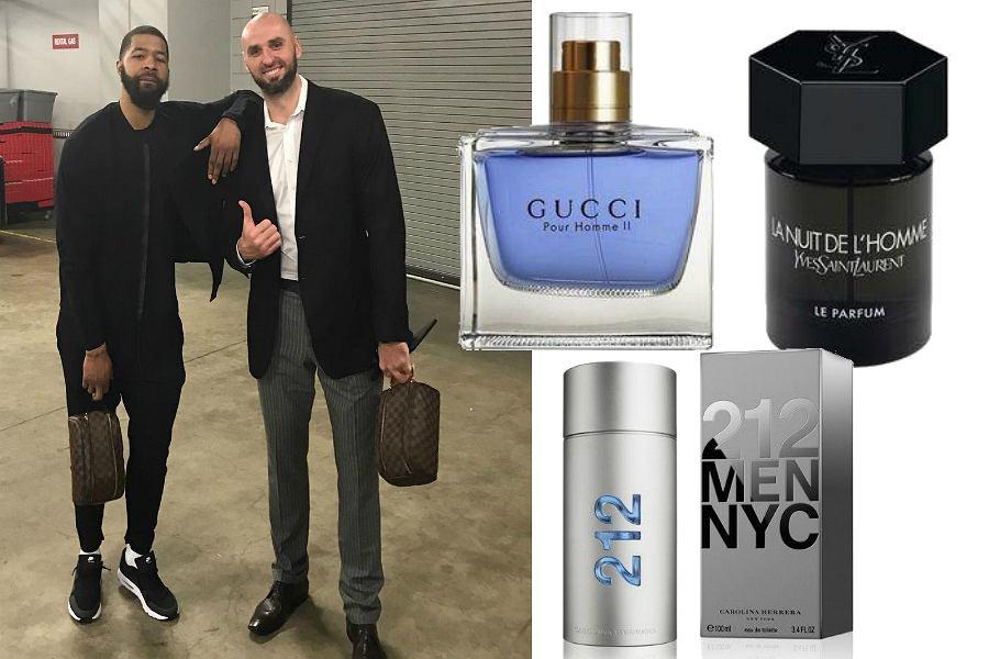 Ulubione perfumy Marcina Gortata