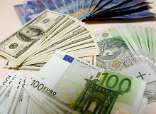 Kursy walut NBP 23.02. Główne waluty wciąż drogie [kurs euro, dolara, funta, franka]