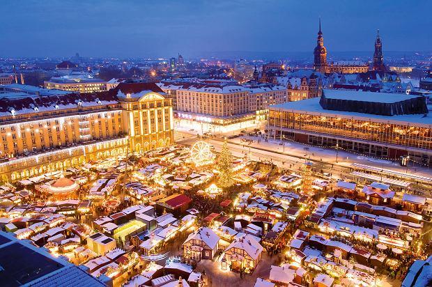 Jarmark świąteczny w Dreźnie