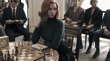 Kadr z serialu 'Gambit królowej'