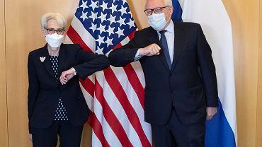 Spotkanie przedstawicieli USA i Rosji w Genewie