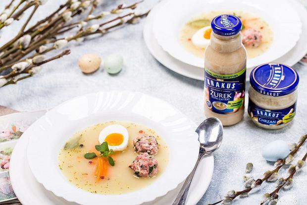 Nowa, jeszcze lepsza formuła - żurek i koncentrat żurku od Krakusa na naturalnym zakwasie. Tradycyjny smak, nie tylko na Wielkanoc