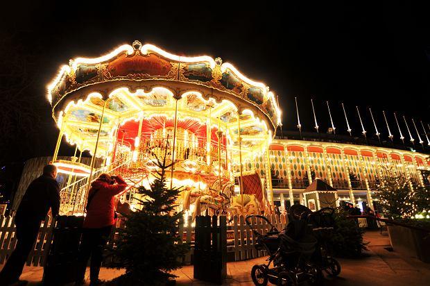 Świąteczne ozdoby w Kopenhadze