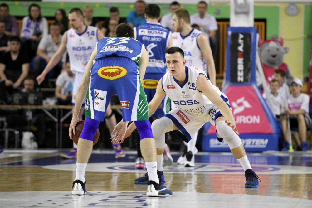 I półfinał fazy play-off Rosa vs Anwil