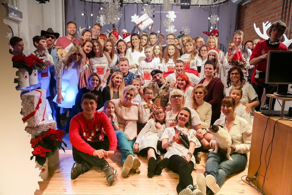Wielki finał akcji 'Słodka Paczka' z gwiazdami