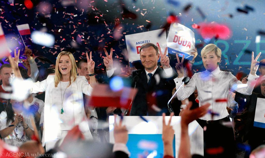 Andrzej Duda podczas ostatniej konwencji wyborczej