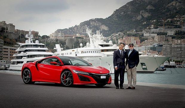 Honda NSX | Pierwszy egzemplarz w Europie