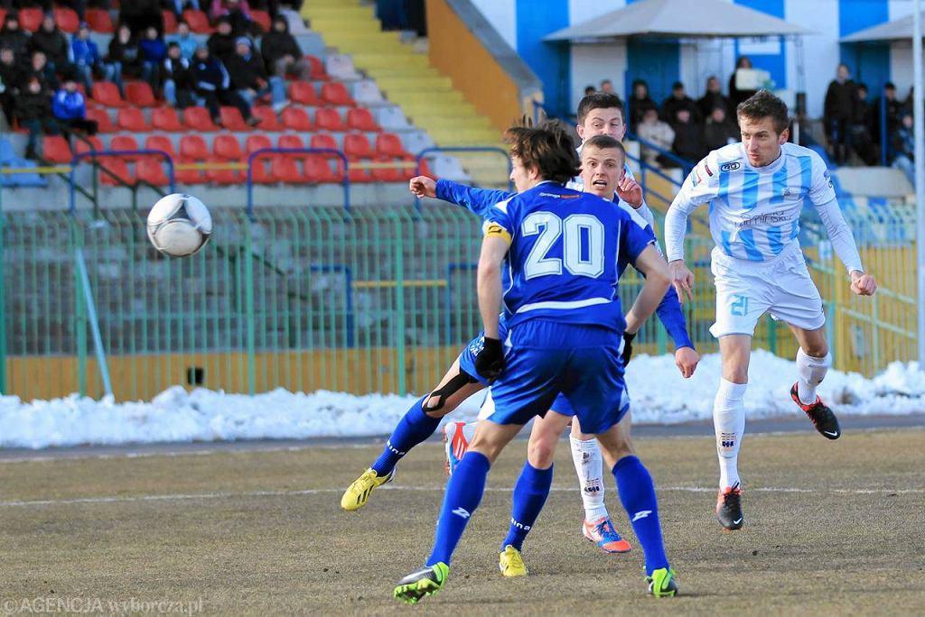 Stomil Olsztyn - ŁKS Łódź 0:0. Łukasz Jegliński