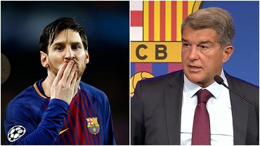 Lionel Messi i Joan Laporta